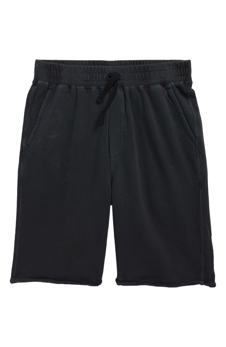 TUCKER + TATE End Zone Shorts, Main, color, BLACK