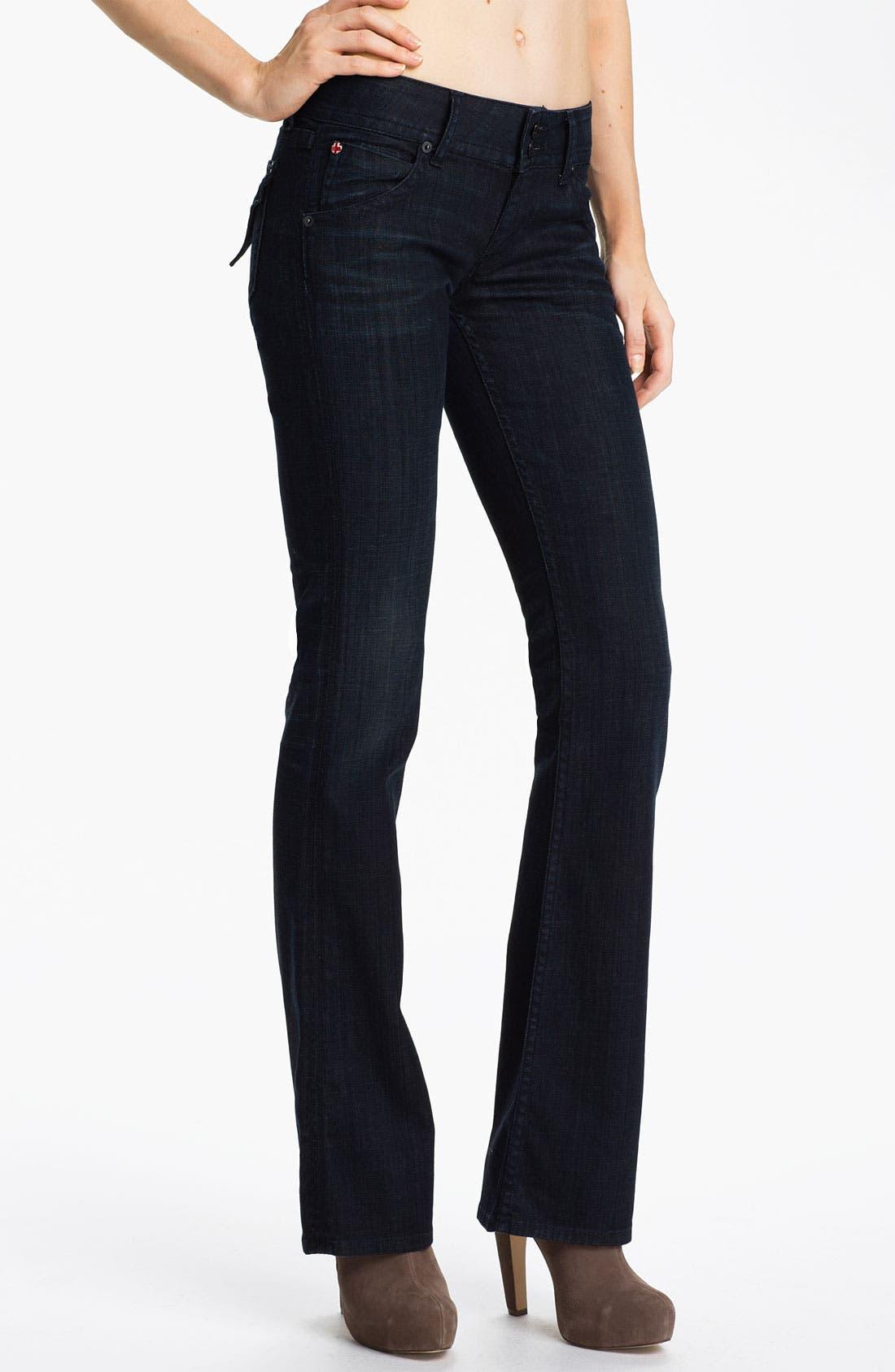 ,                             Signature Flap Pocket Bootcut Jeans,                             Main thumbnail 34, color,                             414
