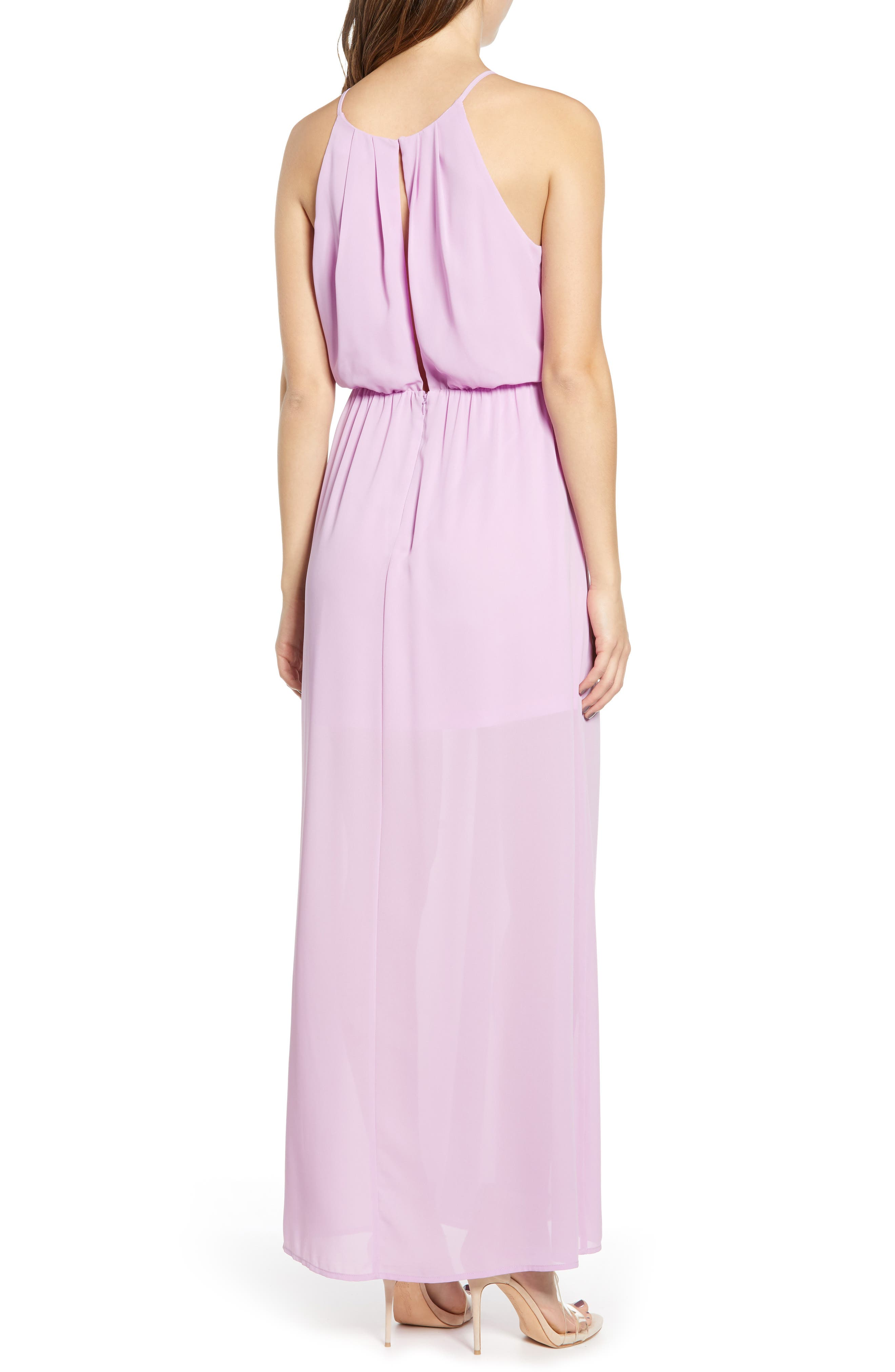 ,                             Blouson Maxi Dress,                             Alternate thumbnail 9, color,                             500