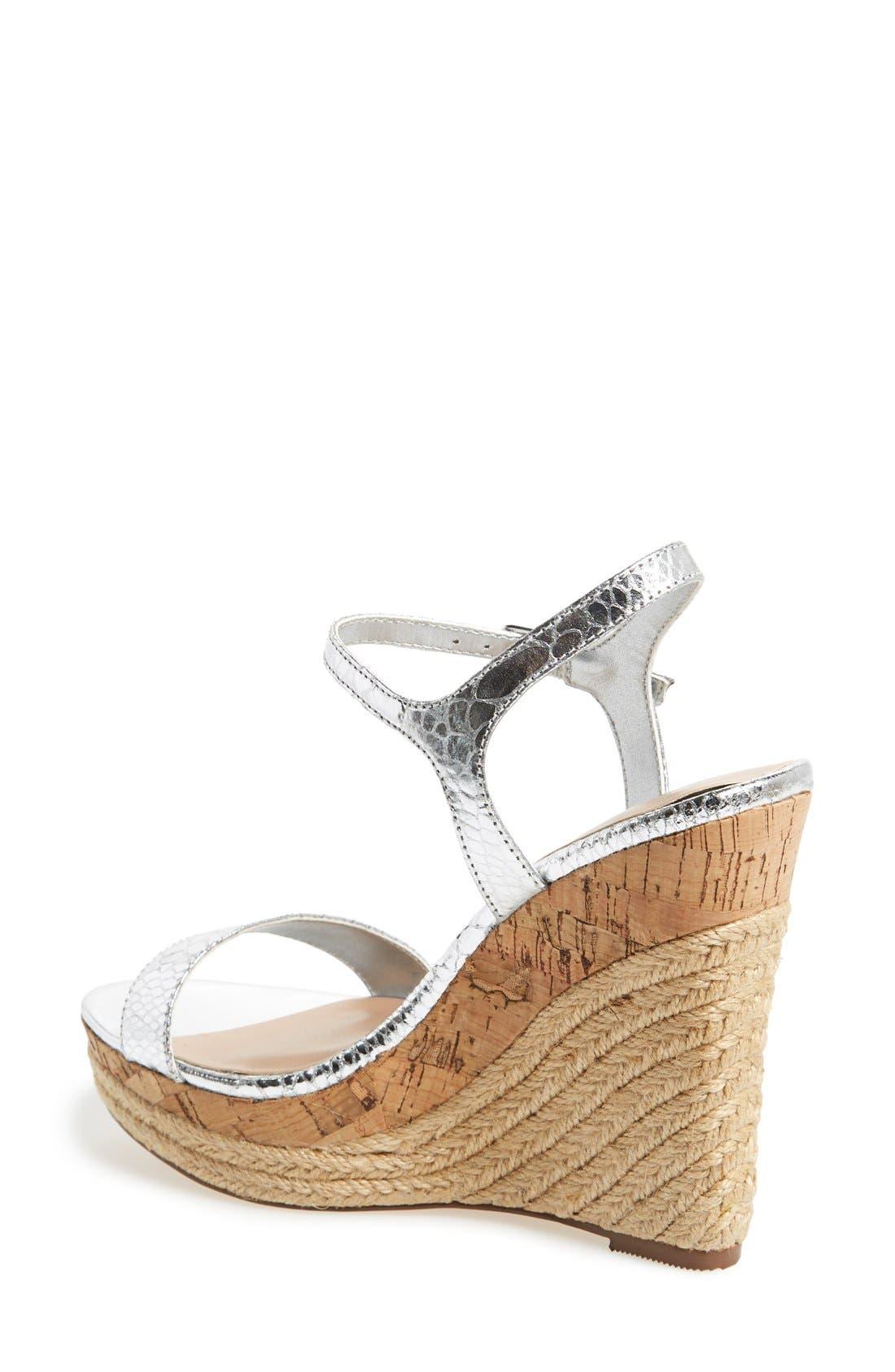 ,                             'Alabama' Espadrille Wedge Sandal,                             Alternate thumbnail 6, color,                             041