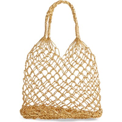 Bp. Metallic Foil Net Tote Bag - Metallic