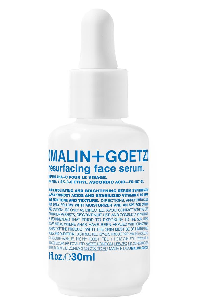 MALIN+GOETZ Resurfacing Face Serum, Main, color, NO COLOR