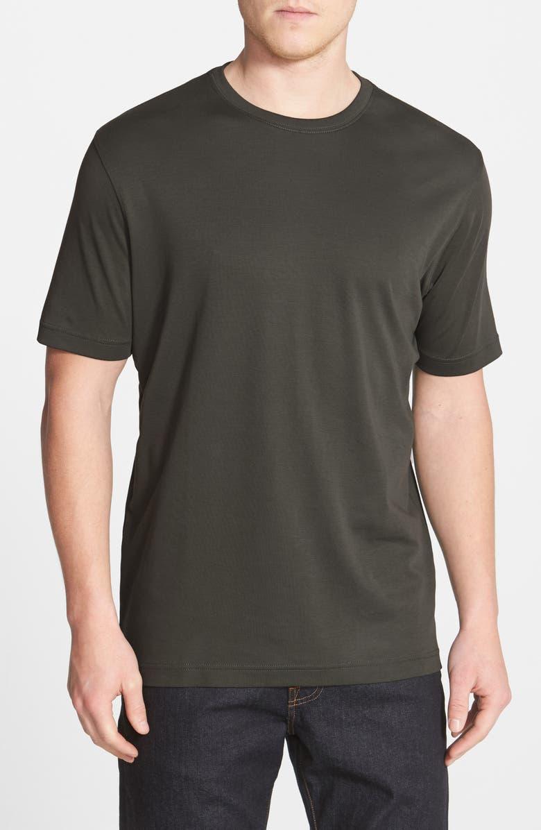 ROBERT BARAKETT Georgia Crewneck T-Shirt, Main, color, SOLDIER GREEN