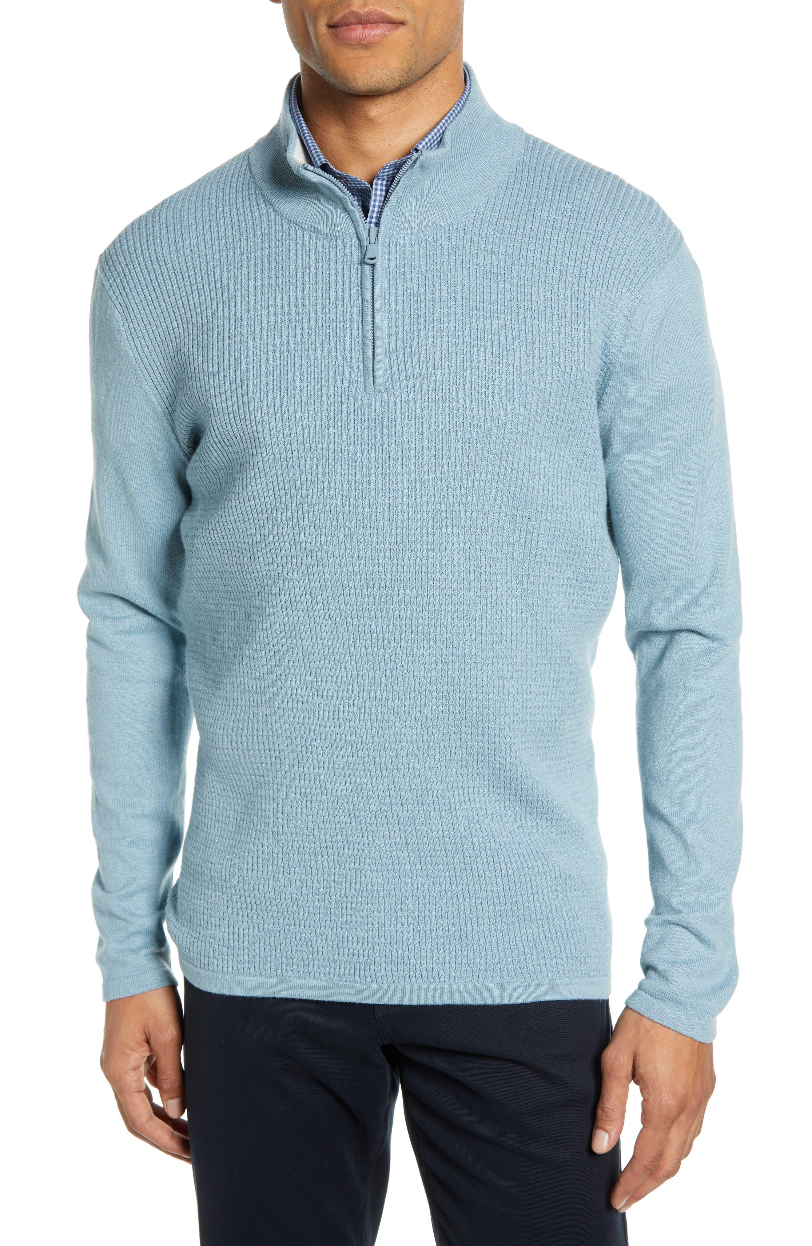,                             Higgins Quarter Zip Sweater,                             Main thumbnail 19, color,                             444