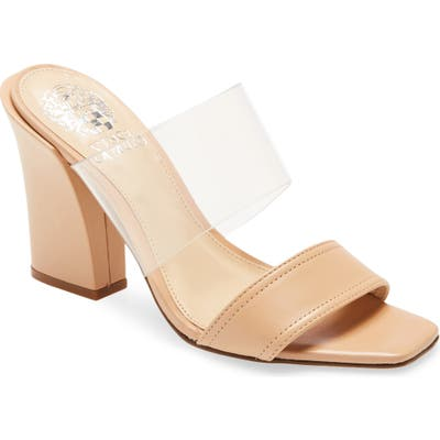 Vince Camuto Felima Two-Strap Sandal, Beige