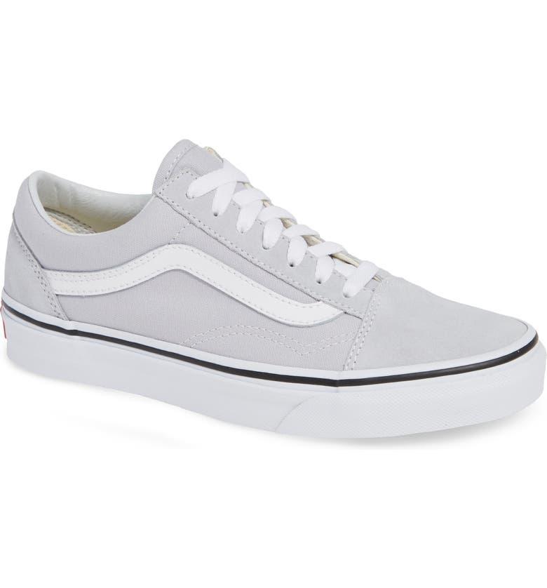 VANS Old Skool Sneaker, Main, color, GRAY DAWN/ TRUE WHITE