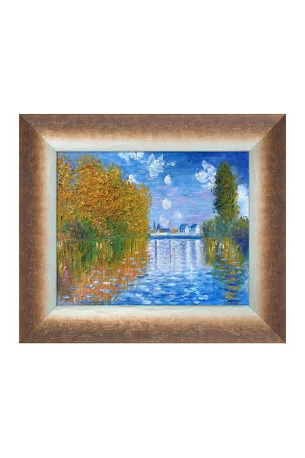 Image of Overstock Art Autumn at Argenteuil with Spoleto Bronze