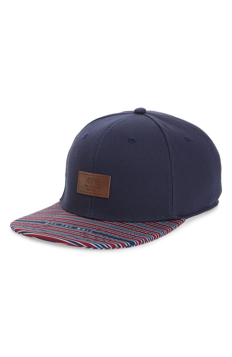 VANS All Over It Snapback Cap, Main, color, 420