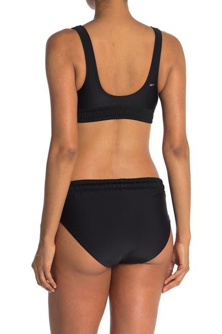 Image of Reebok Drawstring Hipster Bikini Bottom