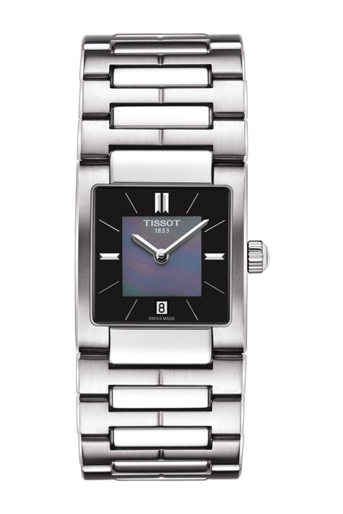 Image of Tissot Women's T02 Mother of Pearl Bracelet Watch, 23mm