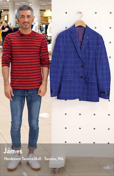 Konan Trim Fit Wool Sport Coat, sales video thumbnail