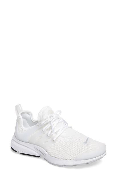 online store bd601 1fcc6 Nike Women s Air Presto Lace Up Sneakers In White  Pure Platinum  White