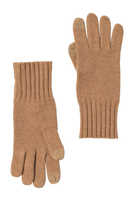 Image of AMICALE Cashmere Touch Screen Knit Glove