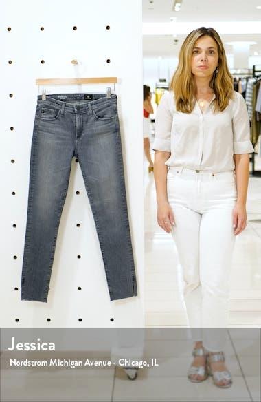Prima Slit Raw Hem Ankle Skinny Jeans, sales video thumbnail