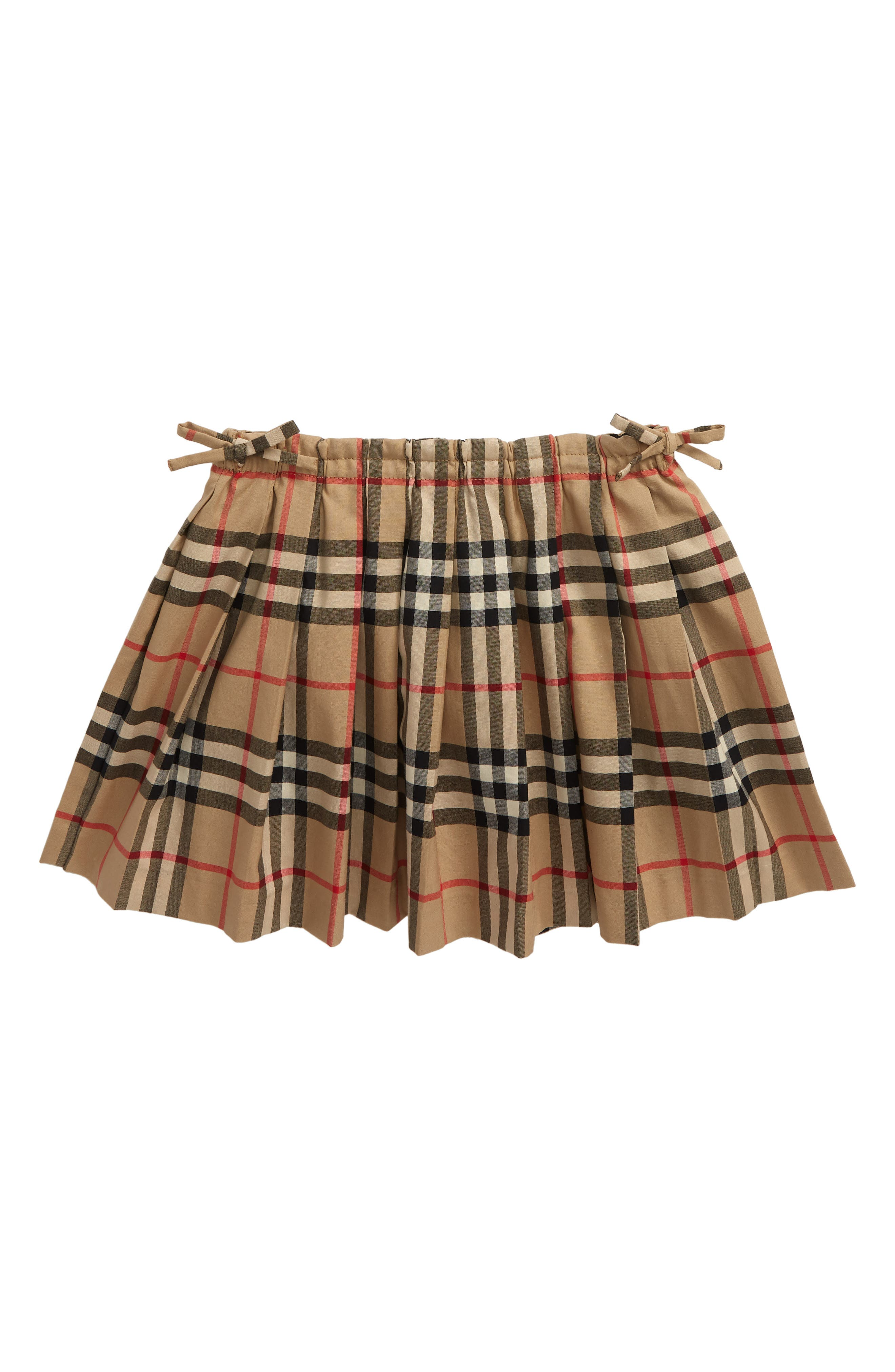 Toddler Girls Burberry Pearly Check Skirt