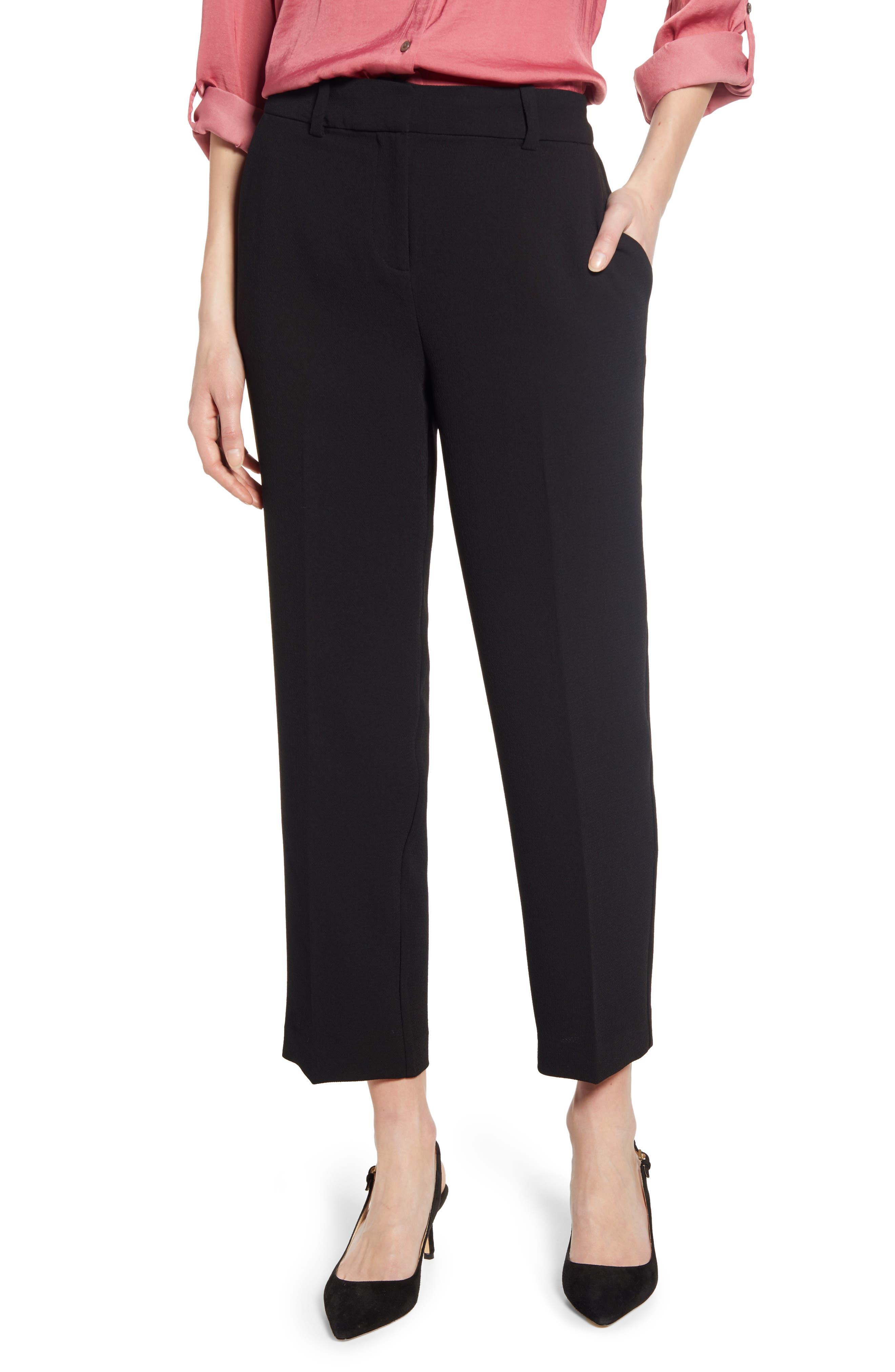 Parisian Crepe Trousers, Main, color, 006