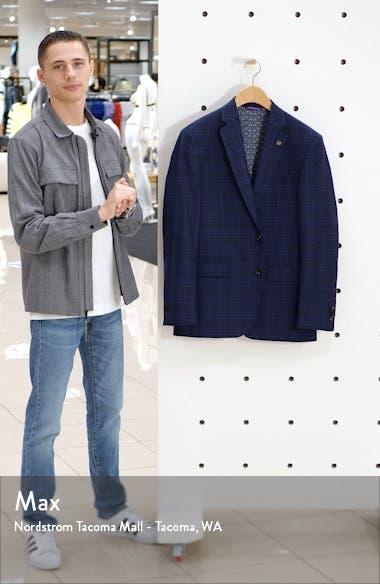 Jay Trim Fit Plaid Sport Coat, sales video thumbnail
