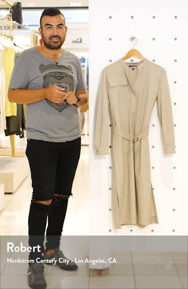 Livorno Long Sleeve Shirtdress, sales video thumbnail