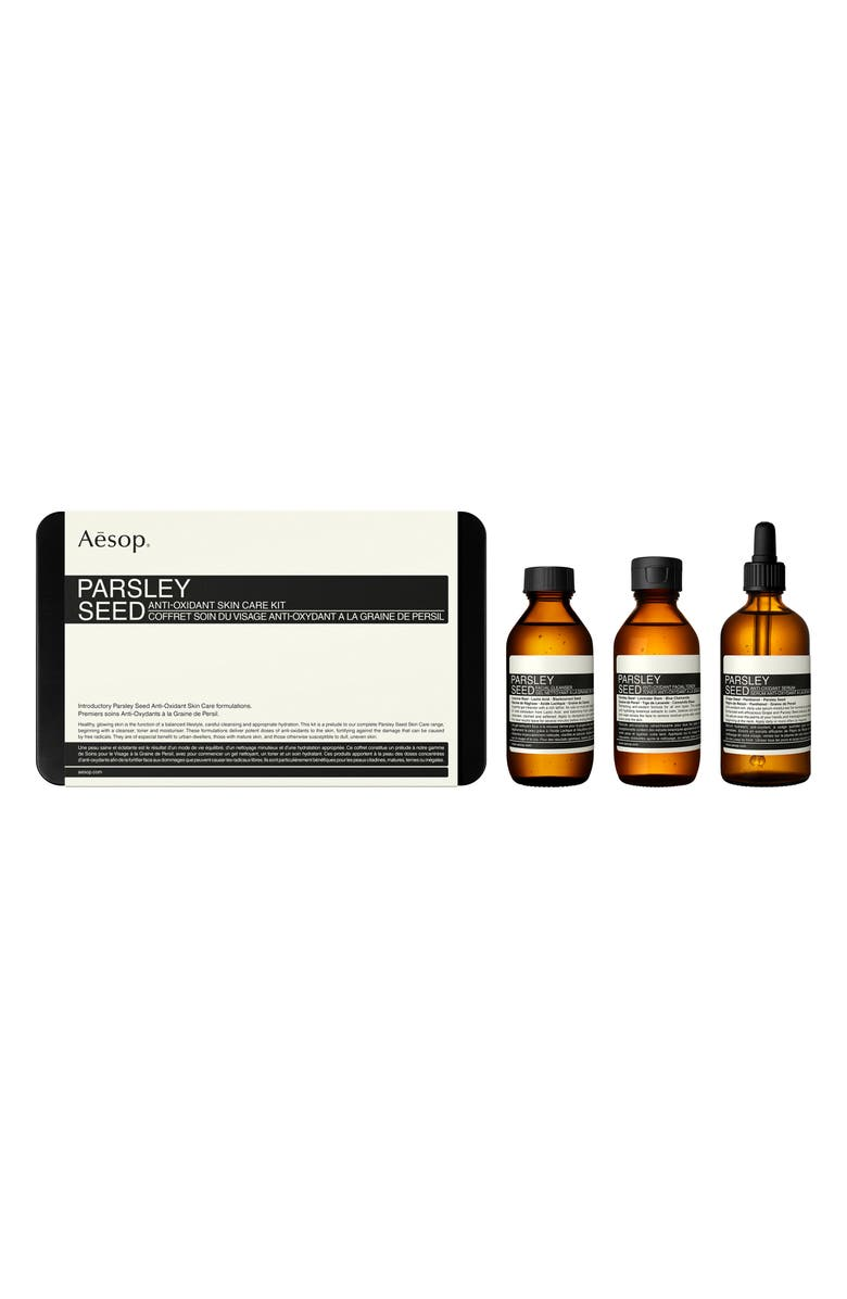 AESOP Parsley Seed Anti-Oxidant Skin Care Kit, Main, color, NO COLOR