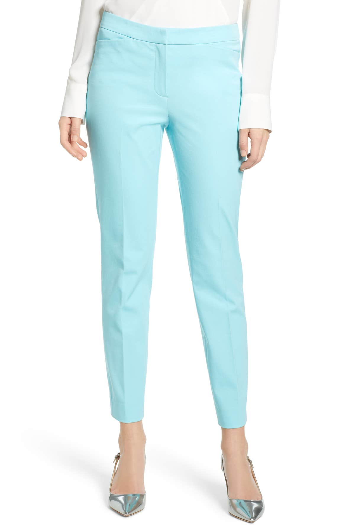 Ankle Pants, Main, color, BLUE GULF