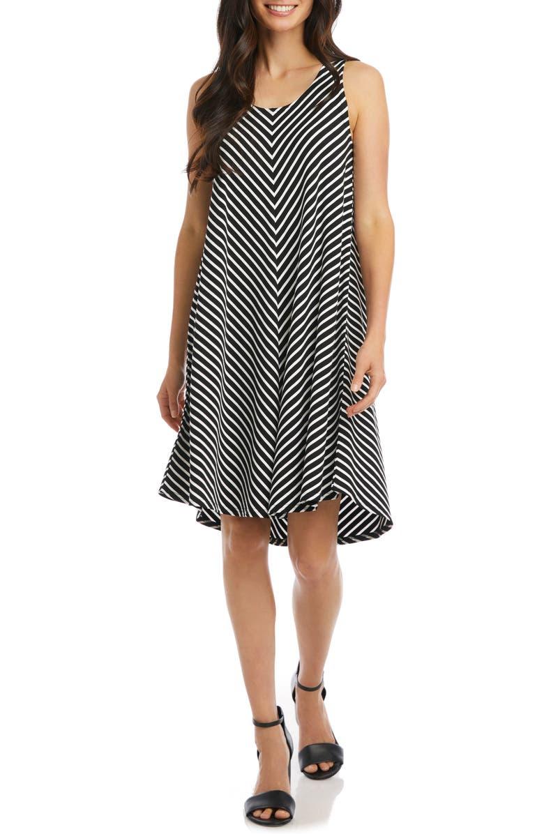 KAREN KANE Stripe Swing Dress, Main, color, STRIPE