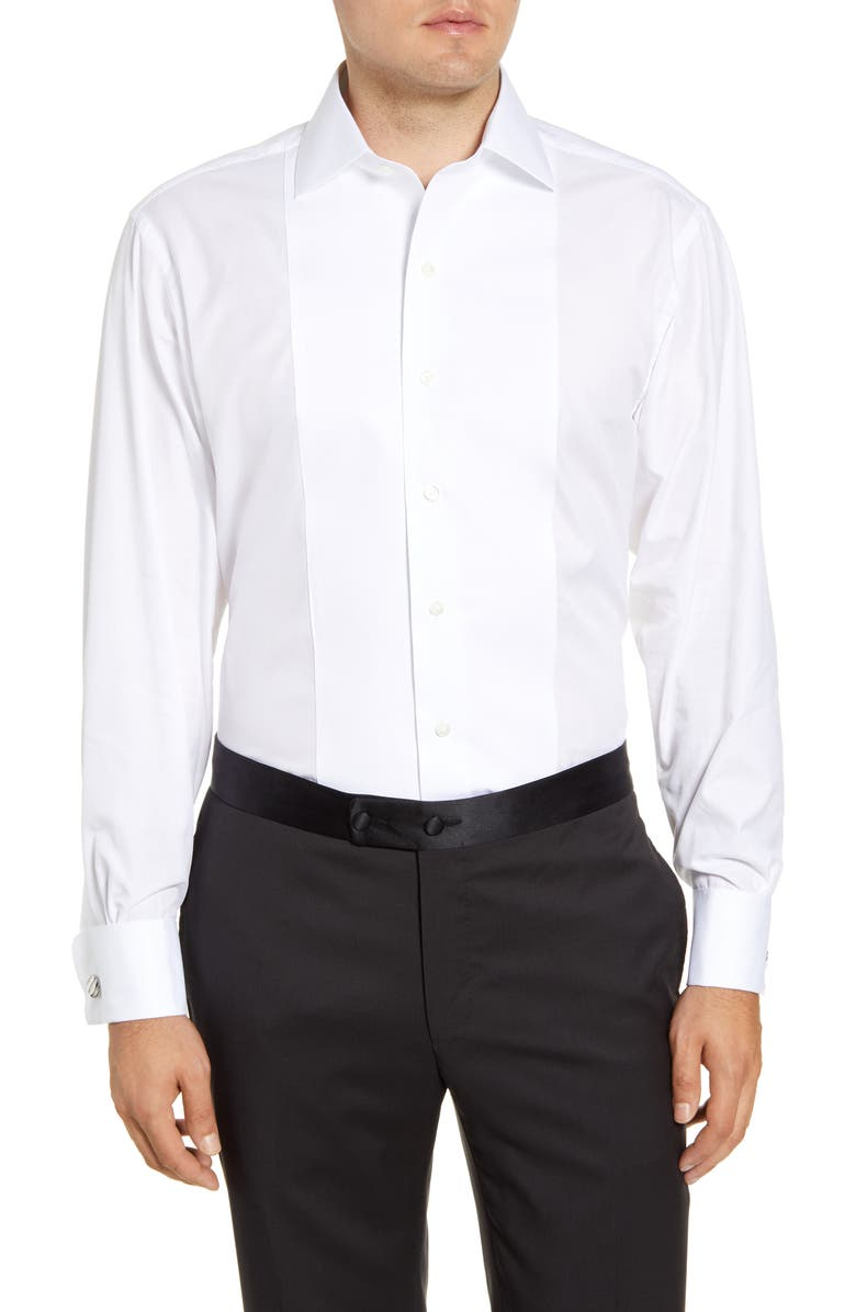 BROOKS BROTHERS Classic Fit Formal Shirt, Main, color, WHITE
