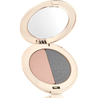 Jane Iredale Purepressed Eyeshadow Duo - Hush/smoky Grey