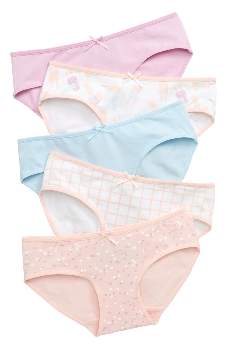 TUCKER + TATE 5-Pack Hipster Briefs, Main, color, SUMMER POPSICLE PACK