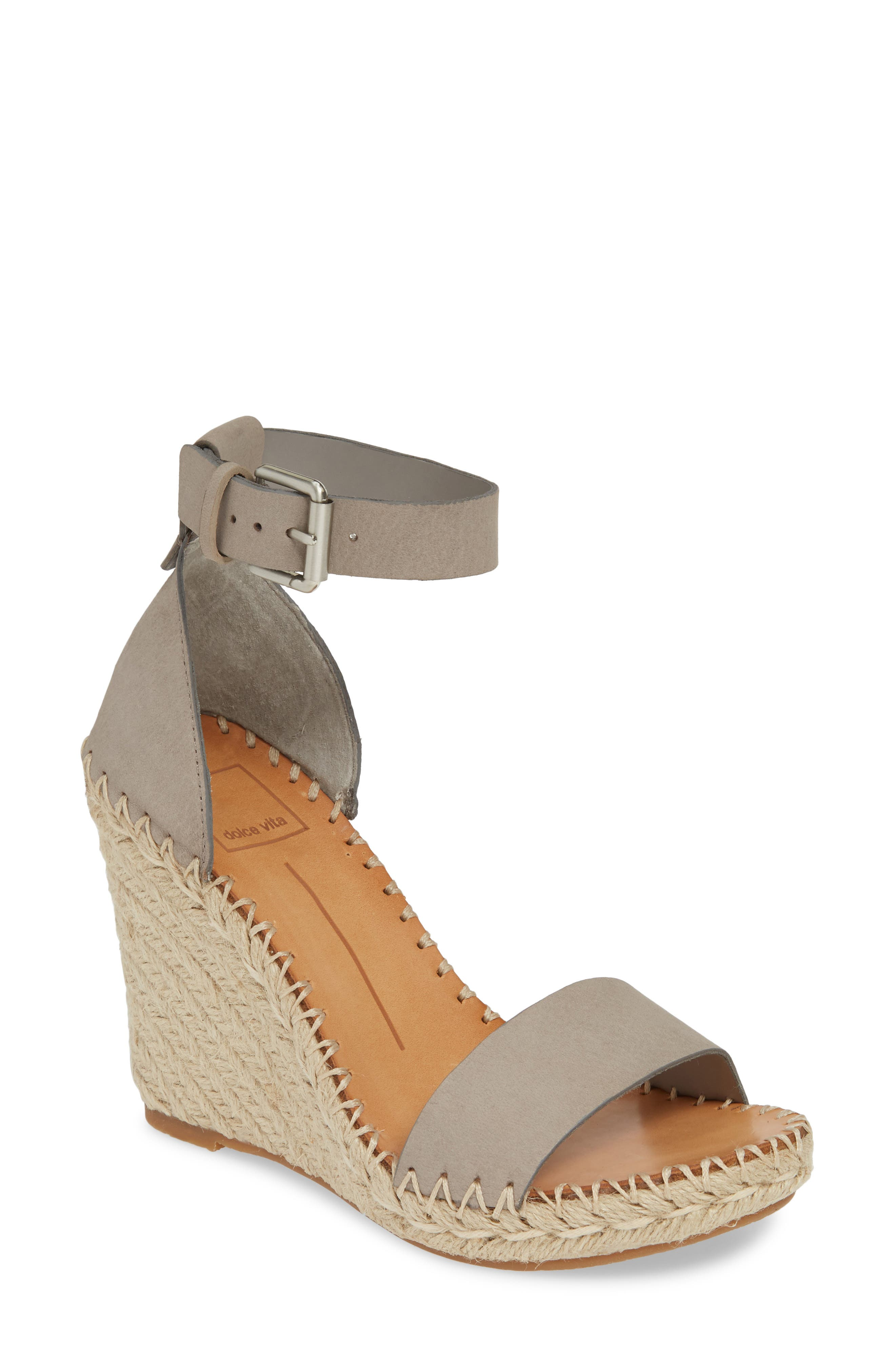 Noor Espadrille Wedge Sandal, Main, color, 020