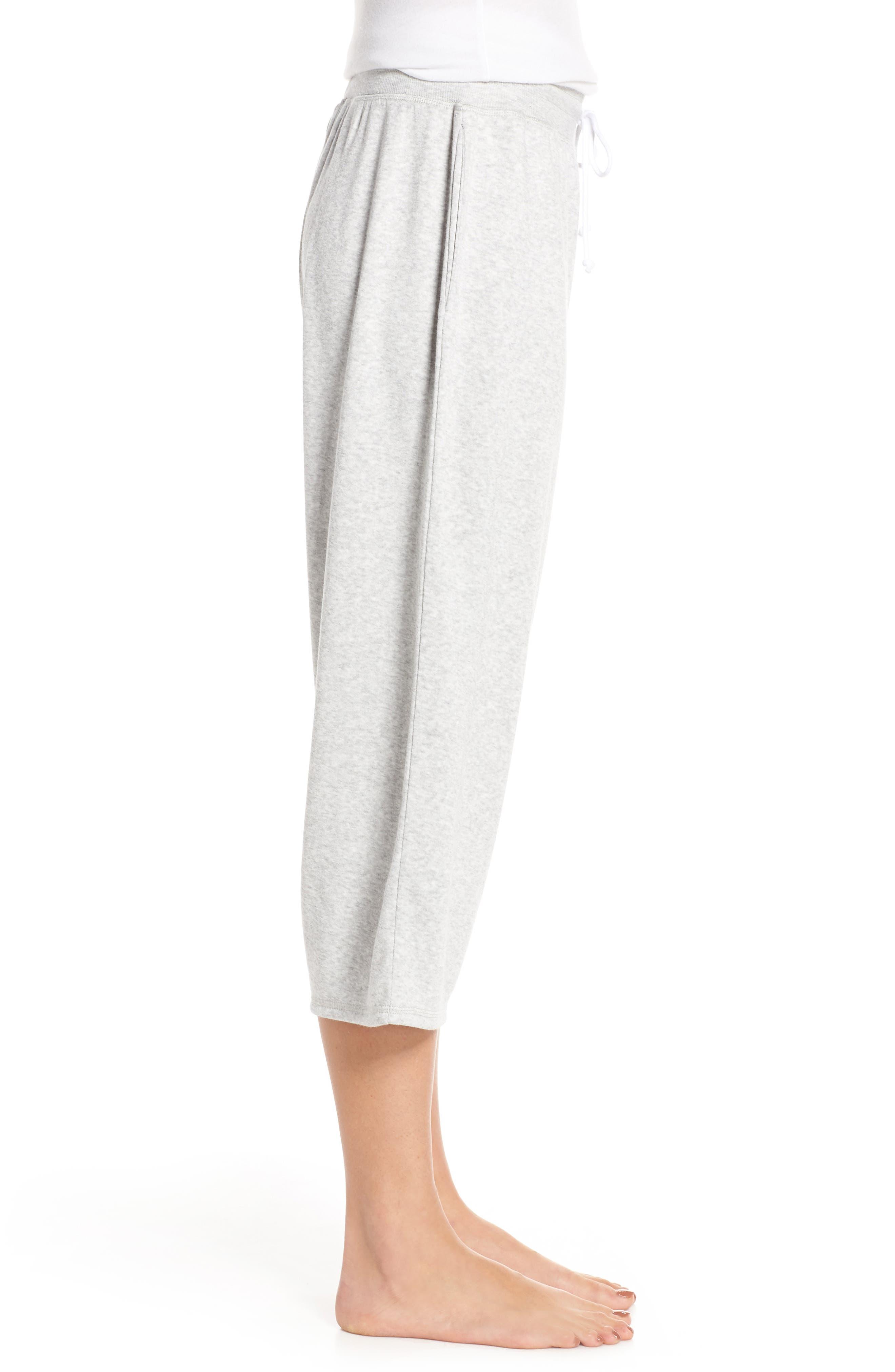 ,                             Cropped Fleece Pants,                             Alternate thumbnail 4, color,                             050