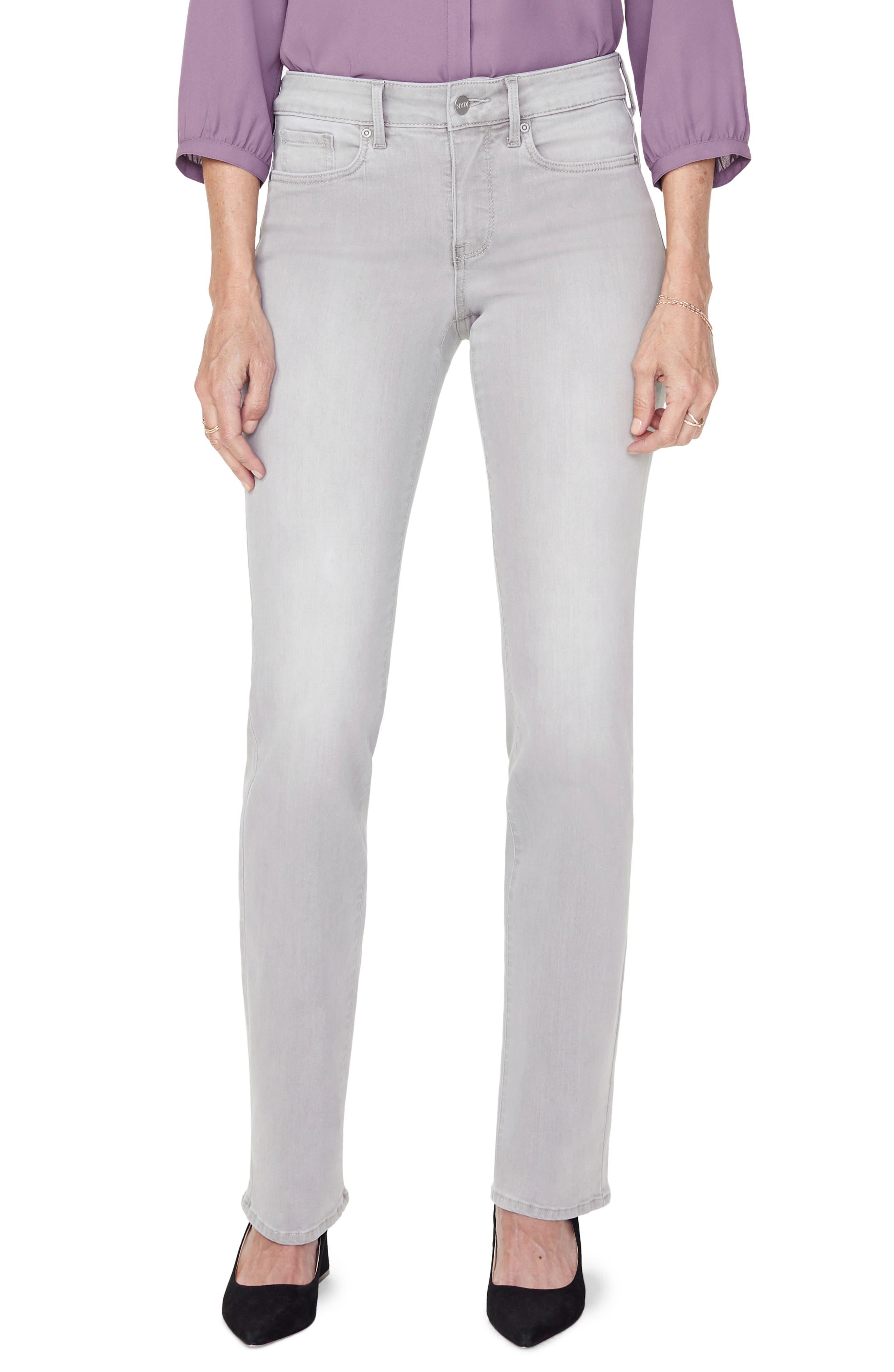 Image of NYDJ Marilyn Straight Leg Jeans
