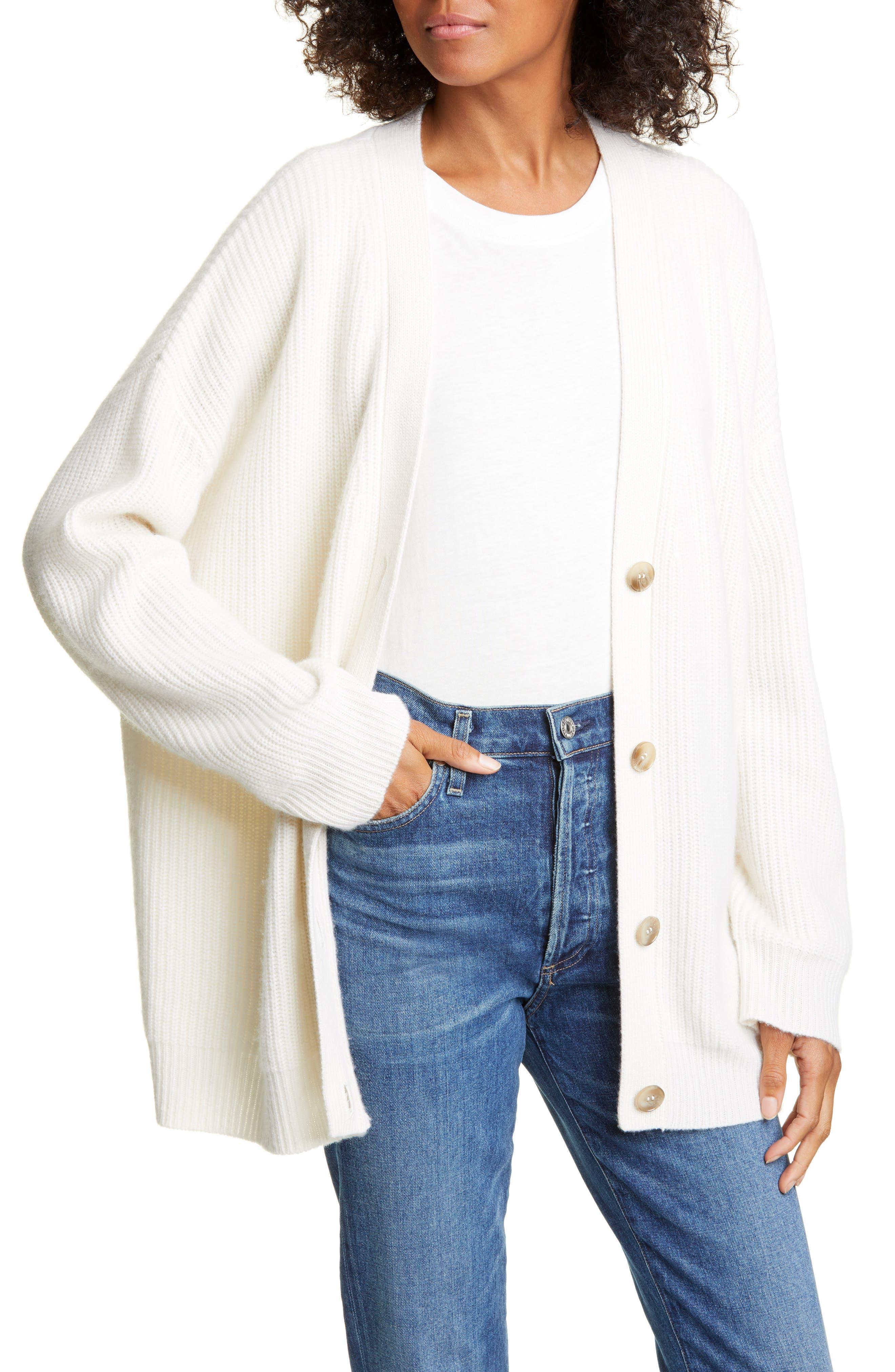 Cashmere Cocoon Cardigan