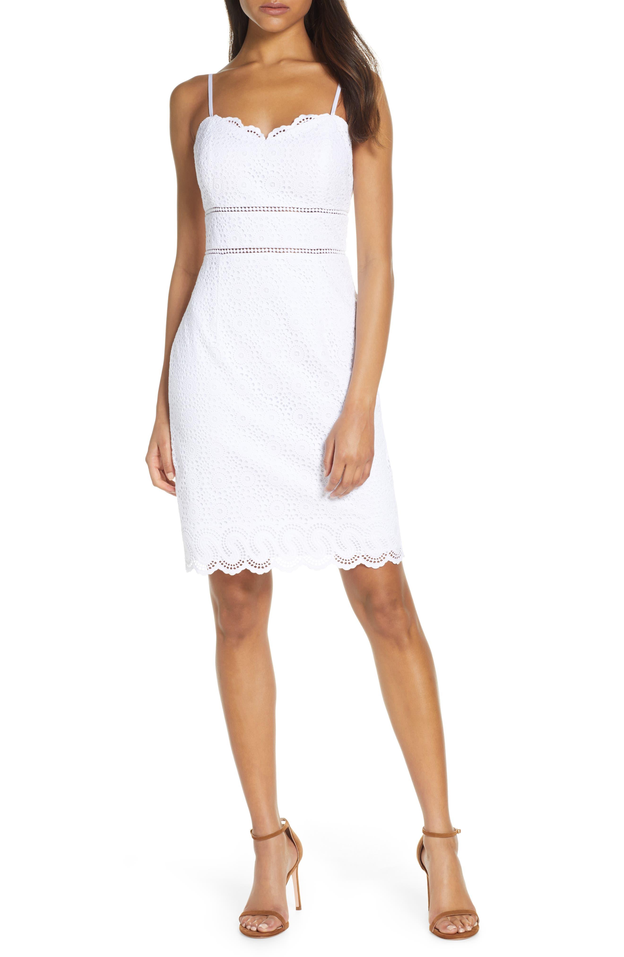 Lilly Pulitzer Jaida Sheath Dress, White