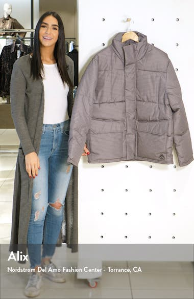 Houndstooth Puffer Jacket, sales video thumbnail