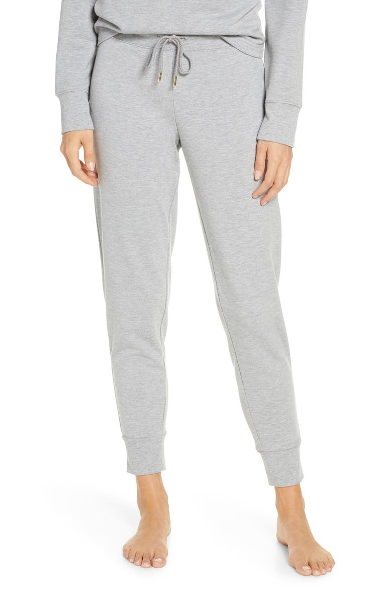 RACHEL PARCELL Fleece Jogger Pants, Main, color, 030