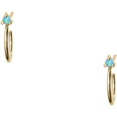 Wwake Botany Collection Mini Hoop Earrings