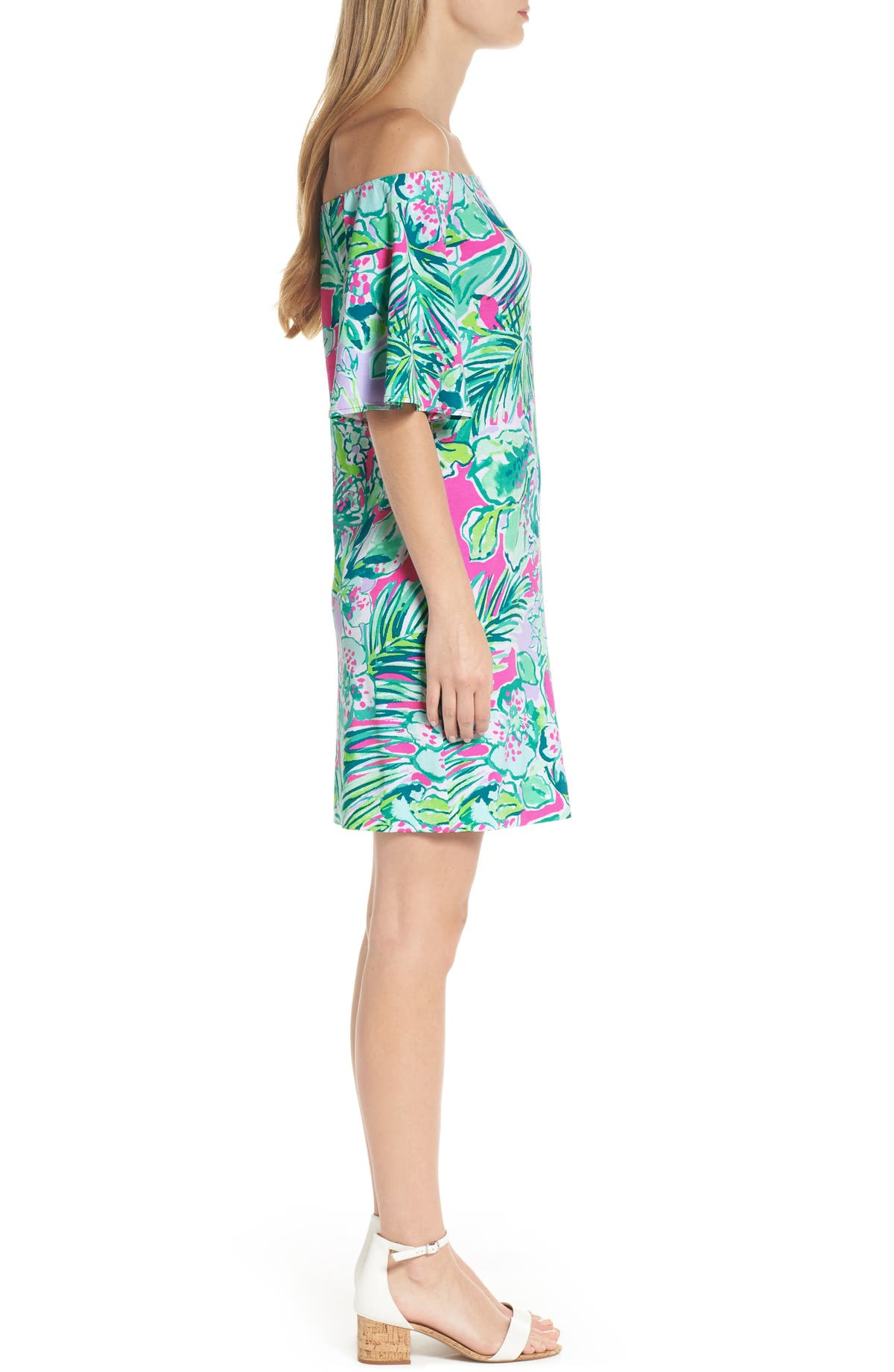 7f85a1dc820 Lilly Pulitzer® Fawcett Off the Shoulder Dress   Nordstrom