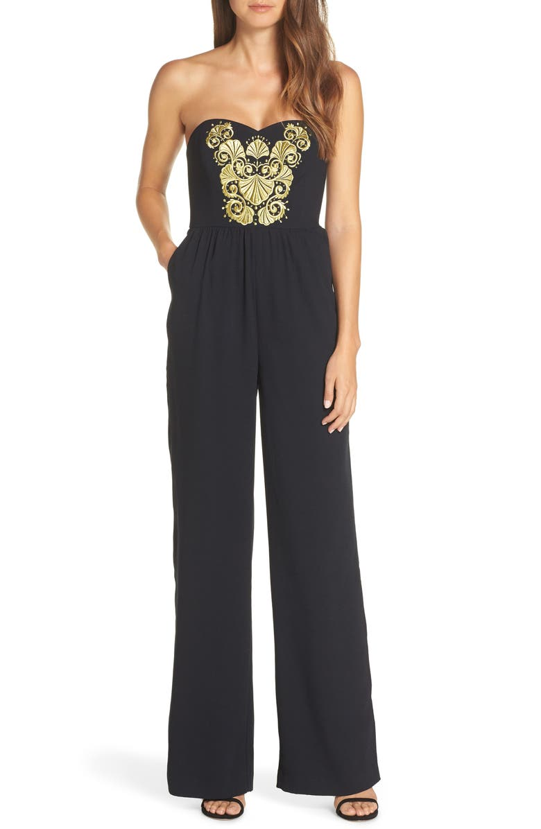 Janelle Embellished Jumpsuit by Lilly Pulitzer®