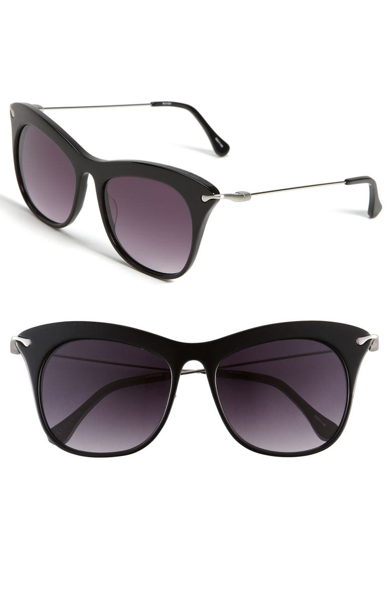 ELIZABETH AND JAMES 'Fairfax' 53mm Sunglasses, Main, color, 001