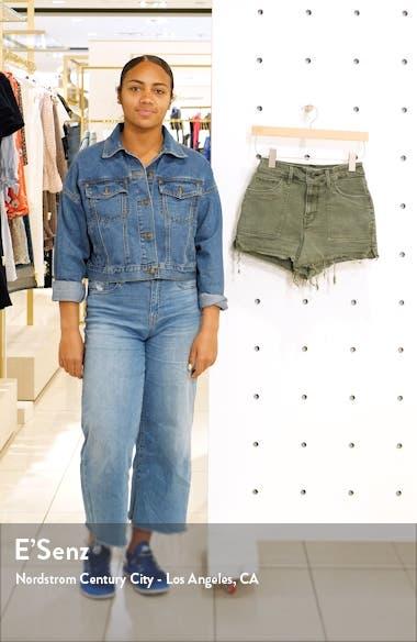 High Waist Cutoff Shorts, sales video thumbnail