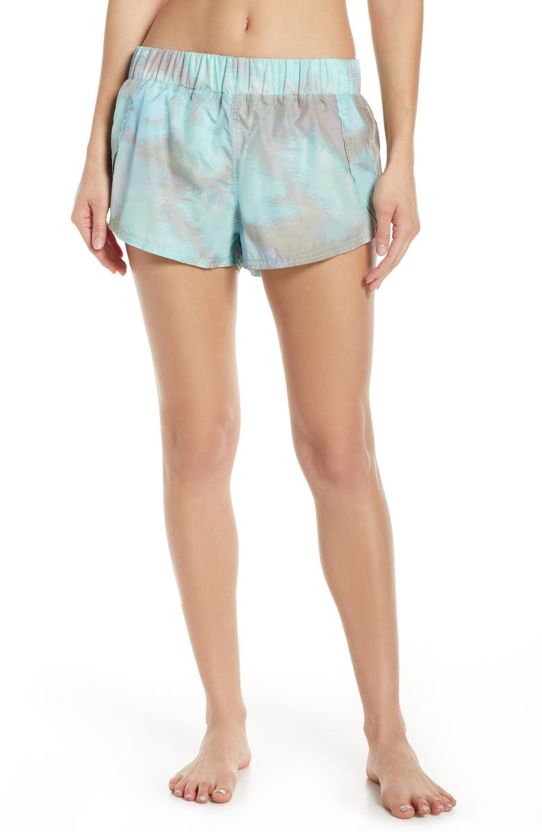 FREE PEOPLE MOVEMENT Fade Into You Shorts, Main, color, ASSORT