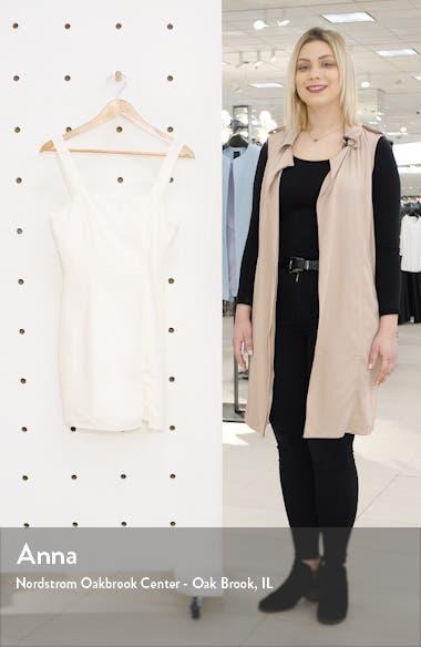 Sleeveless Linen Minidress, sales video thumbnail