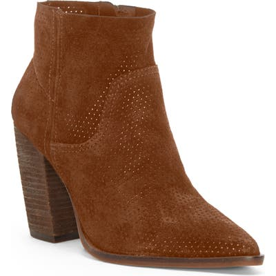 Vince Camuto Cava Perforated Pointy Toe Boot