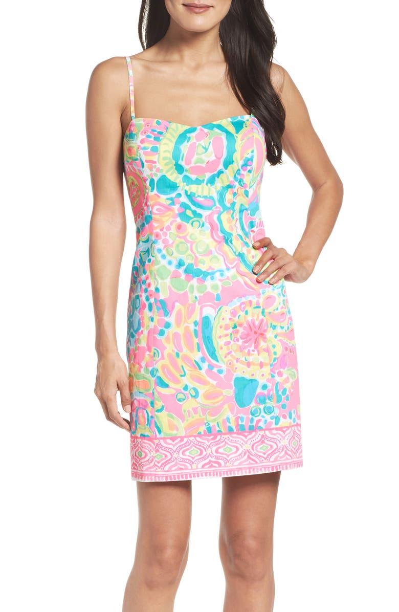 LILLY PULITZER<SUP>®</SUP> Shelli Sheath Dress, Main, color, 650