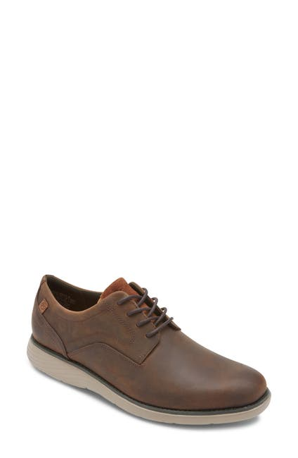 Image of Rockport Garett Plain Toe Derby - Wide Width Available