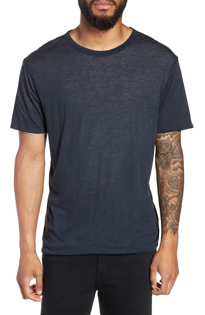 RAG & BONE Reversible T-Shirt, Main, color, 417