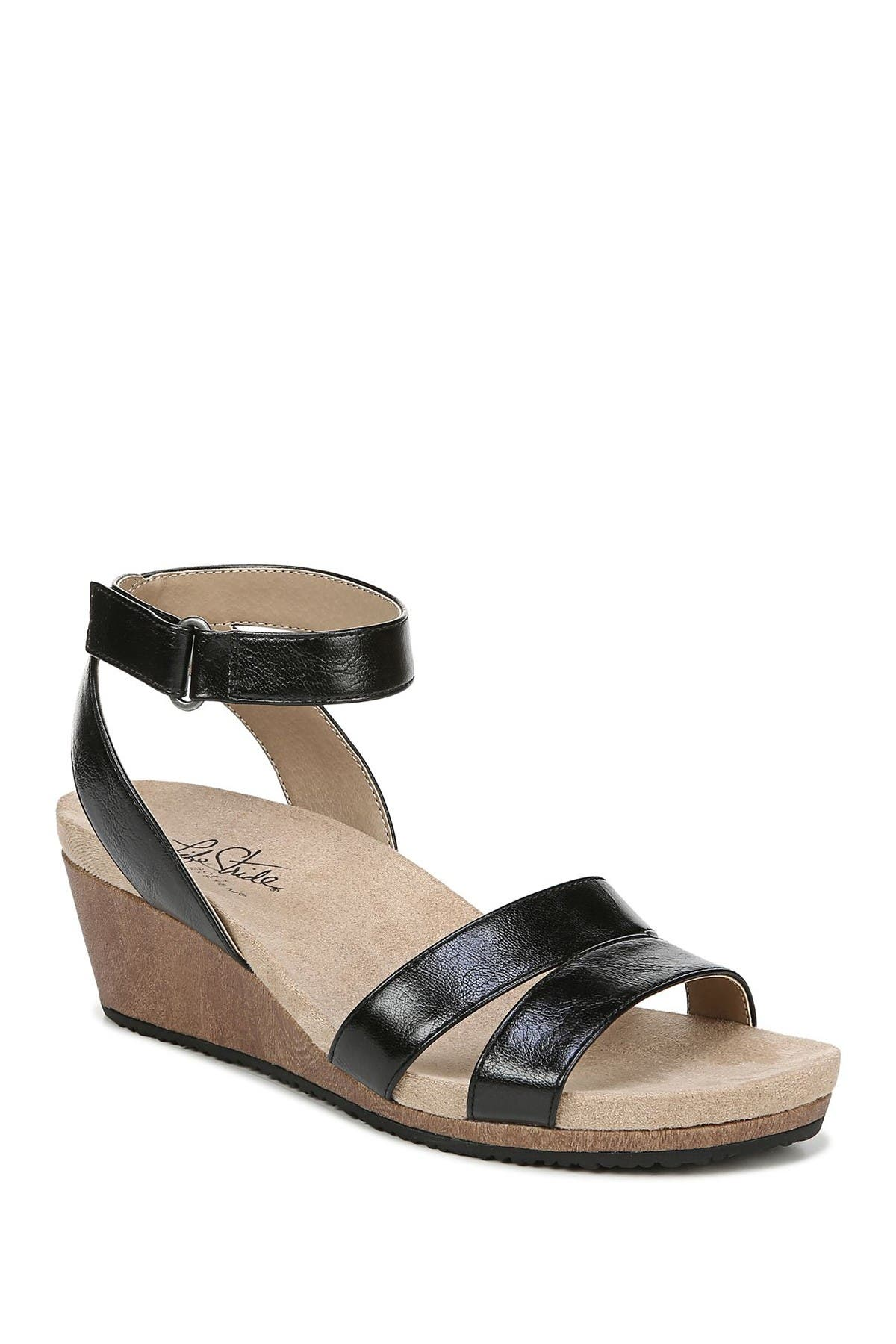 Image of LifeStride Max Wedge Sandal
