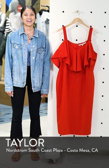 Cold Shoulder Scuba Dress, sales video thumbnail