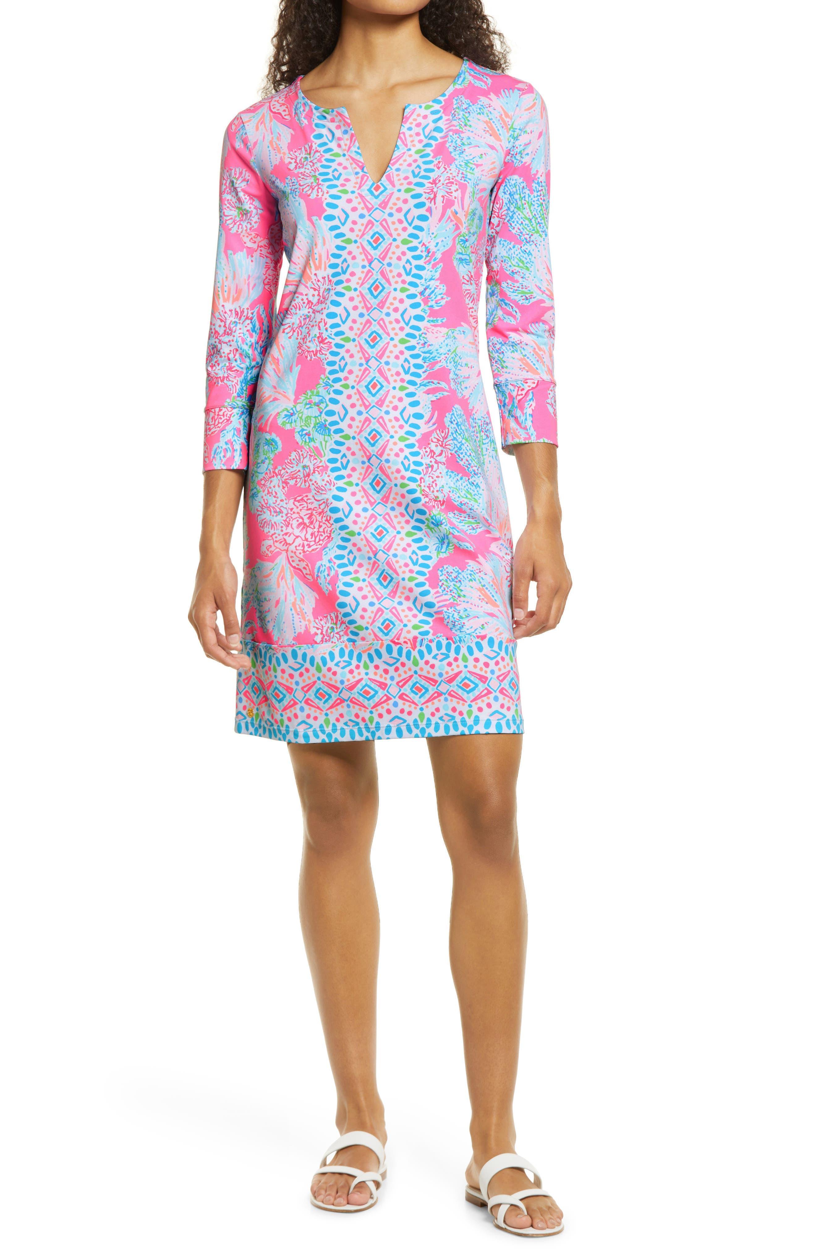 Women's Lilly Pulitzer Nadine Upf 50+ Shift Dress