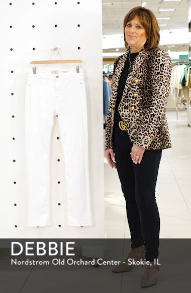 Faux Pocket Slim Straight Leg Jeans, sales video thumbnail